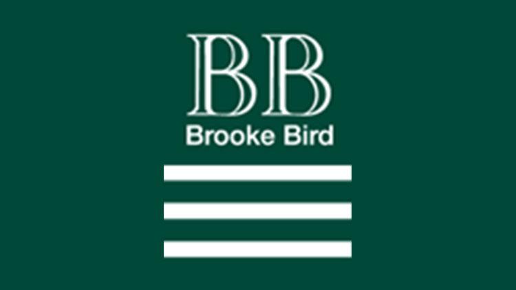 Brooke and bird