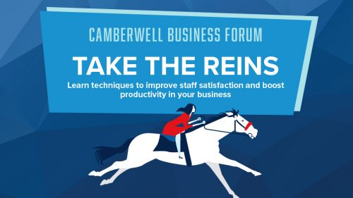Take The Reins Camberwell Business Forum